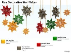 Stock Photo Business Unit Strategy Use Decorative Star Flakes Images Photos
