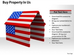Stock Photo Buy Property In Us PowerPoint Template