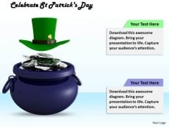 Stock Photo Celebrate St Patricks Day PowerPoint Template
