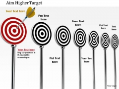 Stock Photo Conceptual Image Of Target Selection PowerPoint Slide