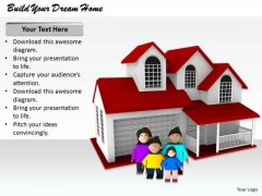 Stock Photo Corporate Business Strategy Build Your Dream Home Images