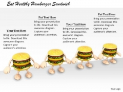 Stock Photo Corporate Business Strategy Eat Healthy Hamburger Sandwich Images