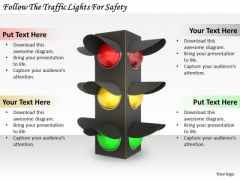 Stock Photo Corporate Business Strategy Follow The Traffic Lights For Safety Pictures Images