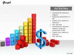 Stock Photo Design Of Financial Charts And Reports PowerPoint Slide