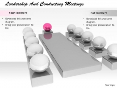 Stock Photo Develop Business Strategy Leadership And Conducting Meetings