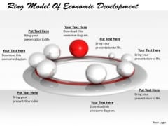 Stock Photo Developing Business Strategy Ring Model Of Economic Development Image