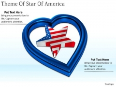 Stock Photo Developing Business Strategy Theme Of Star America Photos