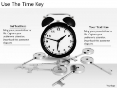 Stock Photo Developing Business Strategy Use The Time Key Stock Photo Image