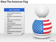 Stock Photo Developing Business Strategy Wear The American Flag Stock Photo Image