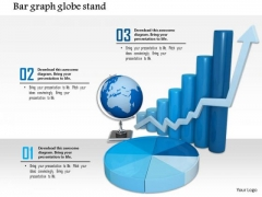 Stock Photo Graphics For Business Reports And Charts PowerPoint Slide