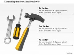 Stock Photo Graphics Of Tools For Repair PowerPoint Slide