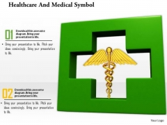 Stock Photo Illustration Of Healthcare And Medical Symbol PowerPoint Slide