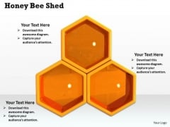 Stock Photo Illustration Of Honey Bee Shed PowerPoint Slide