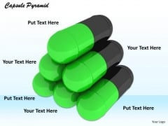 Stock Photo Illustration Of Medicine Capsules PowerPoint Slide