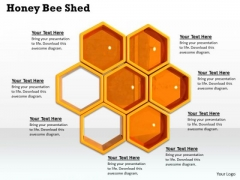 Stock Photo Image Of Honey Bee Shed PowerPoint Slide
