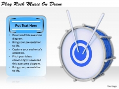Stock Photo International Marketing Concepts Play Rock Music Drum Best Stock Photos