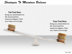 Stock Photo It Business Strategy Strategies To Maintain Balance Images