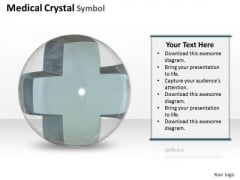 Stock Photo Medical Crystal Ball PowerPoint Slide