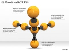 Stock Photo Molecular Structure For Chemistry PowerPoint Slide