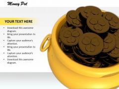 Stock Photo Money Pot Patrick Day PowerPoint Slide