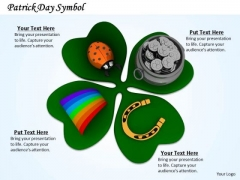 Stock Photo Patrick Day Symbols PowerPoint Slide