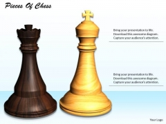Stock Photo Pieces Of Chess PowerPoint Slide