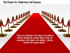 Stock Photo Red Carpet For Celebration And Success PowerPoint Slide