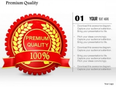 Stock Photo Red Logo Design Of Premium Quality PowerPoint Slide
