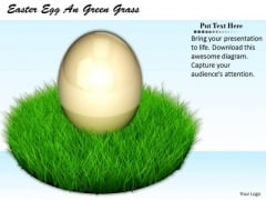 Stock Photo Sales Concepts Easter Egg Green Grass Business Icons Images