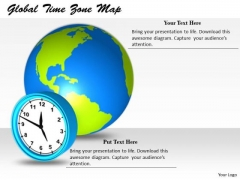 Stock Photo Sales Concepts Global Time Zone Map Business Clipart Images