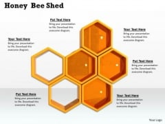 Stock Photo Theme Of Honey Bee Shed PowerPoint Slide