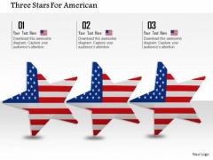 Stock Photo Three Dancing Stars Of America PowerPoint Slide