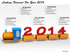Stock Photo Total Marketing Concepts Looking Forward Year 2014 Business Clipart Images