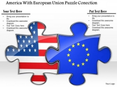 Stock Photo Union Of Us And Uk Flag PowerPoint Slide