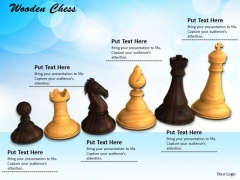 Stock Photo White Black Pieces Of Chess Game PowerPoint Slide