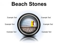 Stones Beach PowerPoint Presentation Slides Cc
