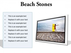 Stones Beach PowerPoint Presentation Slides F