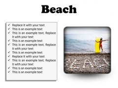 Stones Beach PowerPoint Presentation Slides S