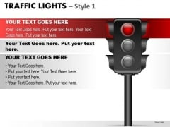 Stop Traffic Light PowerPoint Slides And Ppt Diagram Templates