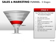 Strategic Sales And Marketing Funnel PowerPoint Slides And Ppt Diagram Templates