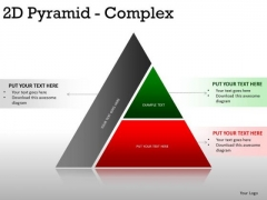 Strategy 2d Pyramid Complex PowerPoint Slides And Ppt Diagram Templates