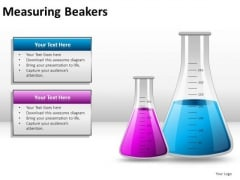 Strategy Measuring Beakers PowerPoint Slides And Ppt Diagram Templates