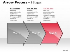 Strategy Ppt Arrow Military Decision Making Process Representation Resources 3 Stages 4 Design