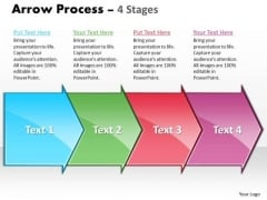 Strategy Ppt Arrow Military Decision Making Process Representation Resources 4 Stages 1 Design