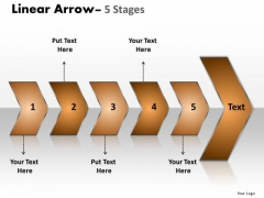 Strategy Ppt Sequential Representation Of 5 PowerPoint Slide Numbers Using Arrows 1 Design