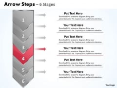 Strategy Ppt Theme Arrow 6 Stages 1 Time Management PowerPoint 5 Image