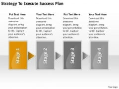 Strategy To Execute Success Plan Mini Business PowerPoint Slides
