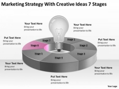 Strategy With Creative Ideas 7 Stages Ppt Business Plans For PowerPoint Templates