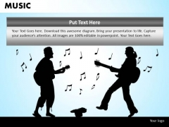 Street Music Performers PowerPoint Templates Editable Ppt Slides