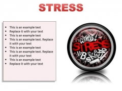 Stress Business PowerPoint Presentation Slides Cc
